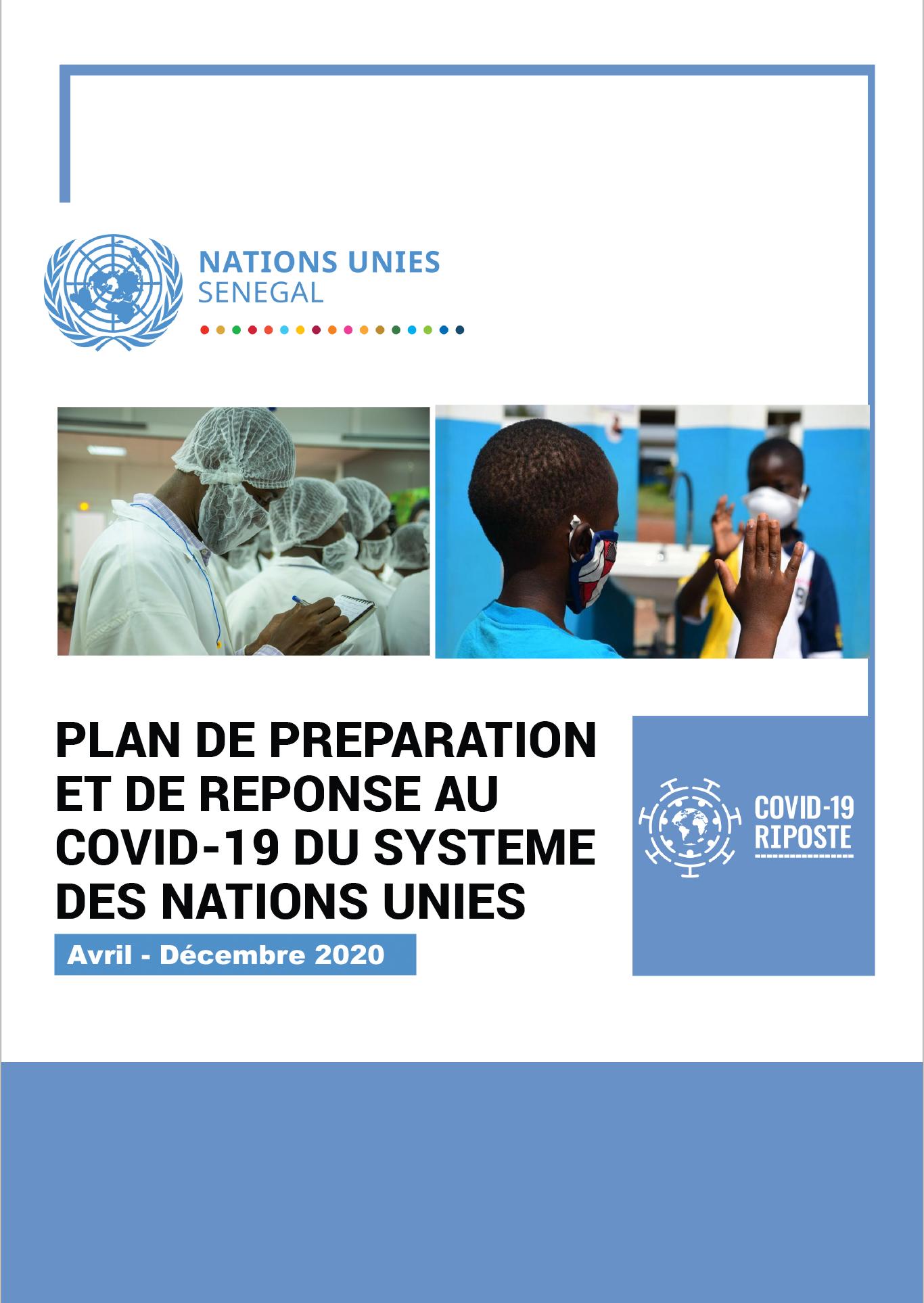 Plan de préparation et de réponse au COVID-19 du Système des Nations Unies au Sénégal