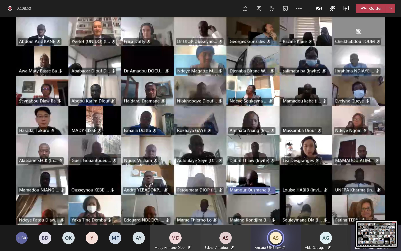 Atelier virtuel de revue annuelle 2020 et de planification 2021 du SNU