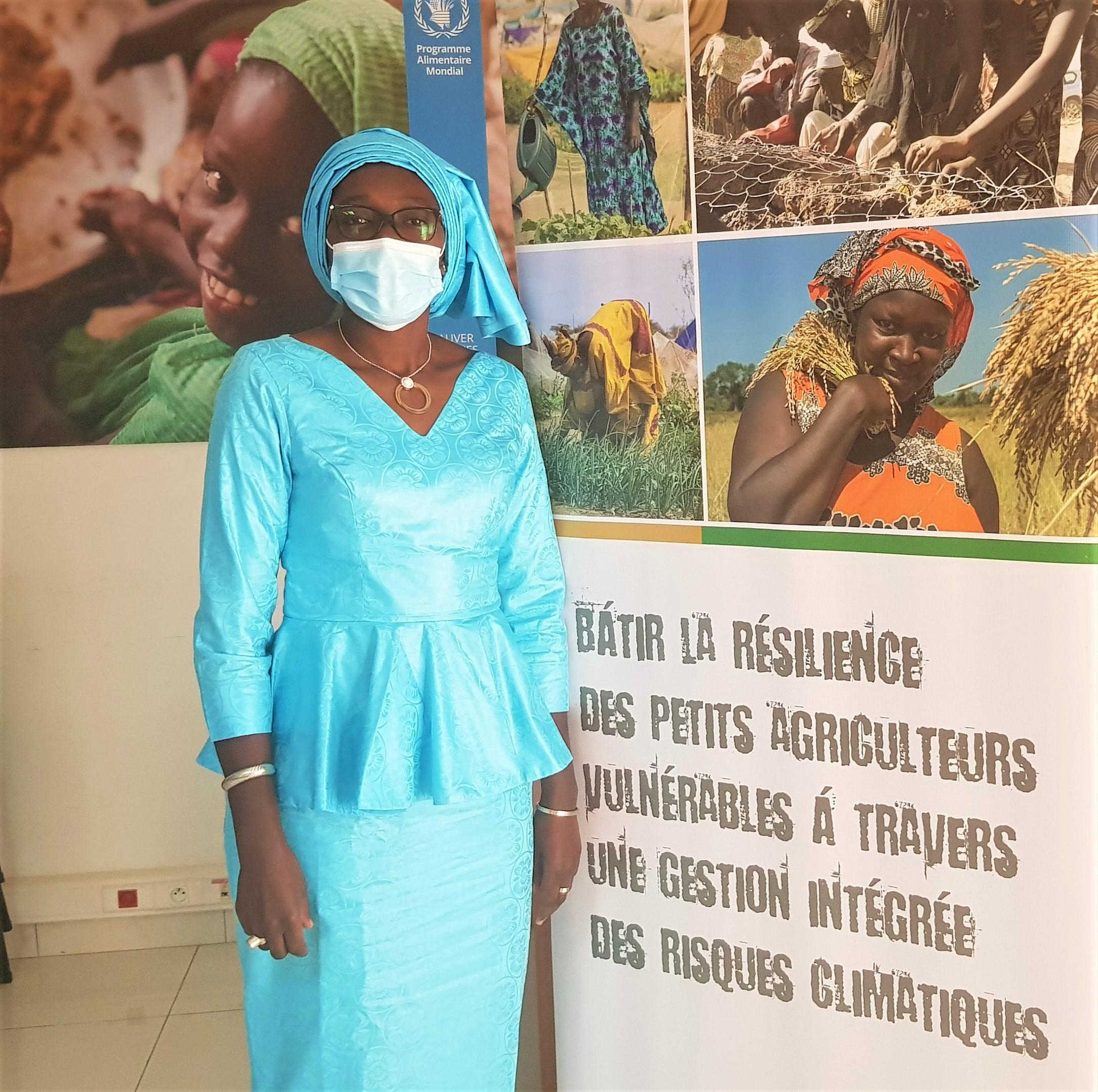 Mme Siré Dabo, chargée de Programme Résilience et Développement rural au bureau Sénégal du Programme alimentaire mondial (PAM).