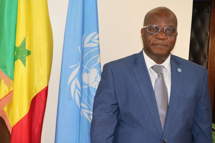 M. Robert GUEI, Représentant de la FAO au Sénégal et Coordonnateur du Bureau Sous-régional de la FAO pour l'Afrique de l'Ouest