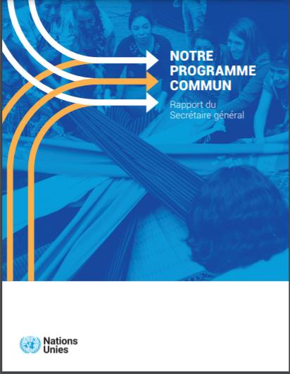 Notre Programme Commun (Rapport du Secrétaire général)